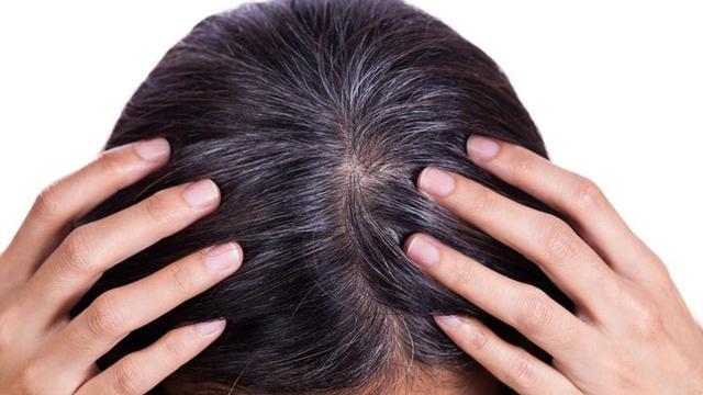 hukum inai rambut dengan warna hitam dengan alasan untuk sorok uban